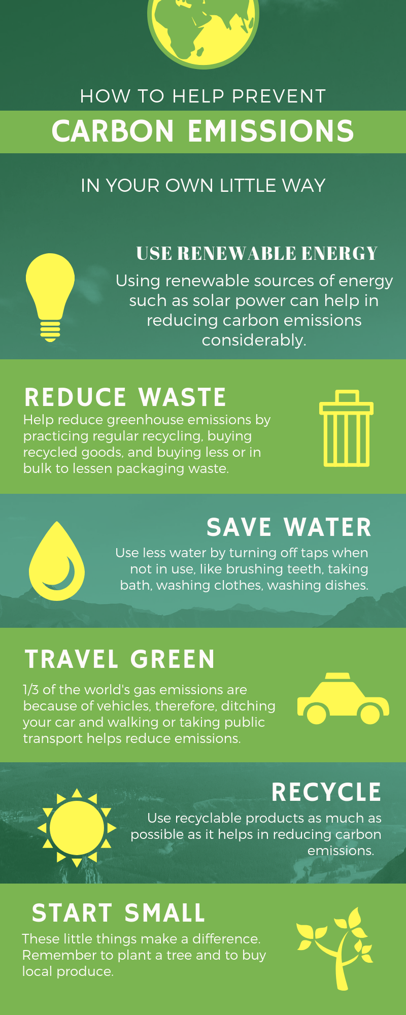how you can reduce carbon emissions